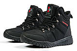 Зимові чоловічі кросівки 31232, Columbia Waterproof, чорні, [ 42 ] р. 42-27,5 див., фото 8
