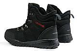 Зимові чоловічі кросівки 31232, Columbia Waterproof, чорні, [ 42 ] р. 42-27,5 див., фото 9