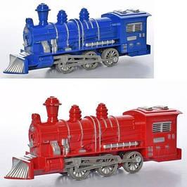 Поезда и паровозы