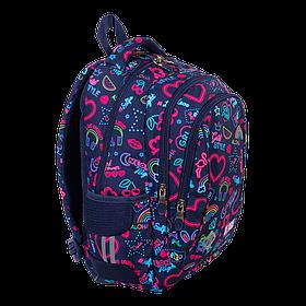 Рюкзак школьный ST.RIGHT BP26 Neon 650 г 39x27x17 см 20 л Разноцветный