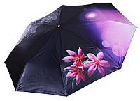 Легкий зонт Три Слона з квітами ( повний автомат ) арт. L3851-4, фото 1