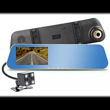 Зеркало заднего вида с регистратором на 2 камеры DVR DV460