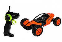 Машина на радиоуправлении типа Hot Wheels W3681 с аккумулятором (Оранжевый)