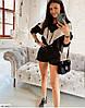 Женский Костюм-кофта и шорты со вставками из пайеток 42-44, 44-46, 46-48, фото 3