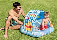 Детский бассейн с навесом 58415 ремкомплект в наборе