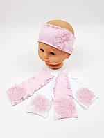 Пов'язки на голову дитячі для дівчаток оптом, Польща (Ala Baby), фото 1