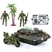 Танк с солдатами игрушка детская Военный набор игрушек для мальчика (57139)