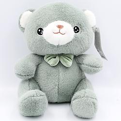 Мягкая игрушка плюшевый Мишка Серый 24 см