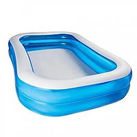 Семейный бассейн надувной BW 54150 с клапаном