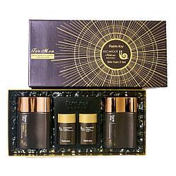 Мужской набор для лица на экстракте слизи королевской улитки FarmStay Escargot Noblesse Intensive Skin For Men