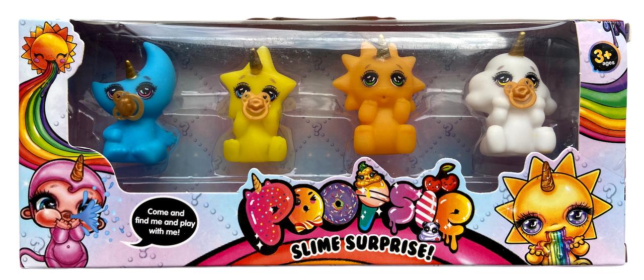Набор детский для игры в ванной, в коробке Poopsie