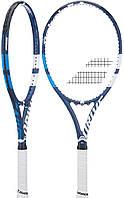Теннисная ракетка Babolat Drive G Lite 101323 136 White-Blue 7846, КОД: 1573008