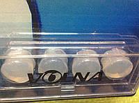 Беруши силиконовые прозрачные формуемые (2 пары)