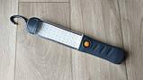Фонарь СТО/Кемпинг светодиодный аккумуляторный WD048 (3 режима, магнит, крюк, microUSB), фото 3