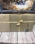Постільна Білизна Сатин, Жаккард Двоспальне Євро 200*220 см Elita Туреччина Капучіно Vizion, фото 2
