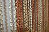 Нитяна штора (серпанок) Пружинки Беж