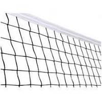 Сетка волейбольная с металлическим тросом, ячейка 12х12cm,