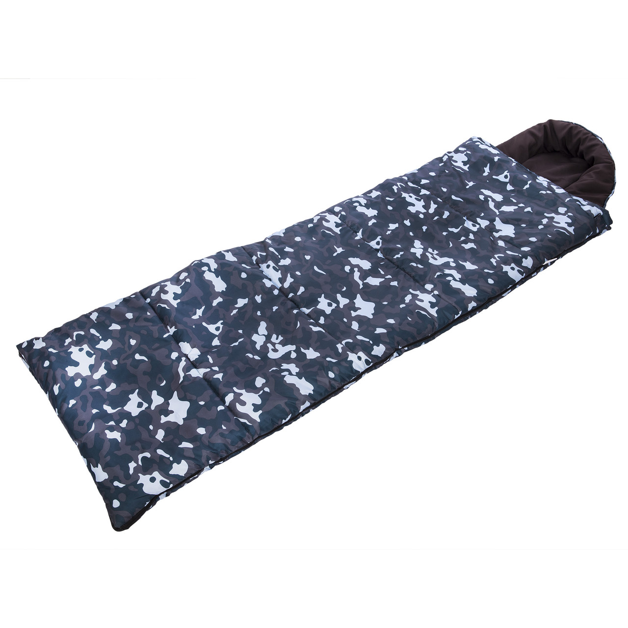 Спальный мешок одеяло с капюшоном камуфляж UR SY-4798 (320г на м2, р-р 190+30х75см, от +5 до-17) (PT0240)