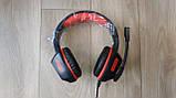 Навушники ігрові з мікрофоном та підсвіткою HAVIT HV-H657D GAMING, black, фото 2