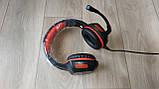 Навушники ігрові з мікрофоном та підсвіткою HAVIT HV-H657D GAMING, black, фото 3