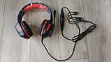 Навушники ігрові з мікрофоном та підсвіткою HAVIT HV-H657D GAMING, black, фото 9