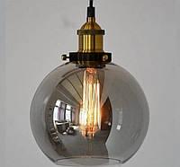 Підвісний світильник 6012 Модерн графіт і чайний