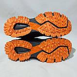 44 р. Літні чоловічі кросівки Adidass (репліка) сітка Чорні Остання пара, фото 8