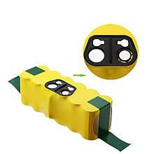 Аккумулятор для пылесоса iRobot Roomba 500 2500 mAh 14.4 В Ni-MH желтый