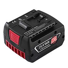 Акумулятор для свердел по бетону Bosch 3000 mAh 14.V BAT607, 2607336318, BAT614, BAT607G, GSR14.4-Li, BAT614G...