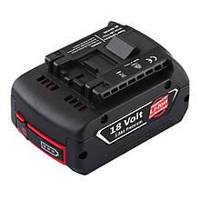 Акумулятор 18В Li-ion 3 Ач Bosch BAT610/Bosch GBA, 18 V, 3000mAh