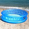 Бассейн надувной детский Intex Летающая тарелка 58431 диаметр (188х46 см)