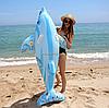 Надувная игрушка для плавания- плотик «Дельфин»