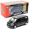 Машинка металлическая Автосвіт Джип Volkswagen черный, световые и звуковые эффекты, 14*6*6 см (AS-2710)