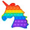 Развивающая сенсорная игрушка антистресс Pop it (Поп ит) (Единорог )