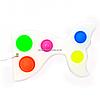 Развивающая сенсорная игрушка антистресс Pop it (Поп ит) Simple Dimple (Симпл Димпл) Русалка (Белый)(Z-0111/1)