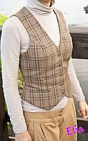 Пошив женского жилета без подкладки, фото 1