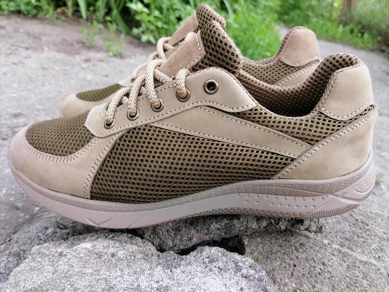 Кросівки тактичні літні сітка MAX Force, beige