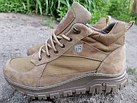 Кросівки тактичні високі демісезонні MAX Power Resolution, койот, фото 1
