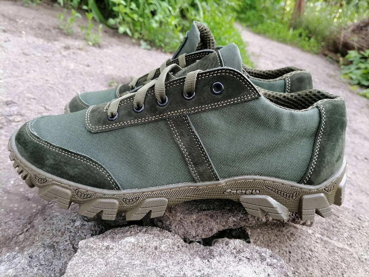 Кросівки тактичні демісезонні MAX Tactic Balance, зелені