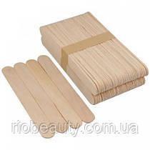 Шпатель дерев'яний 100 шт