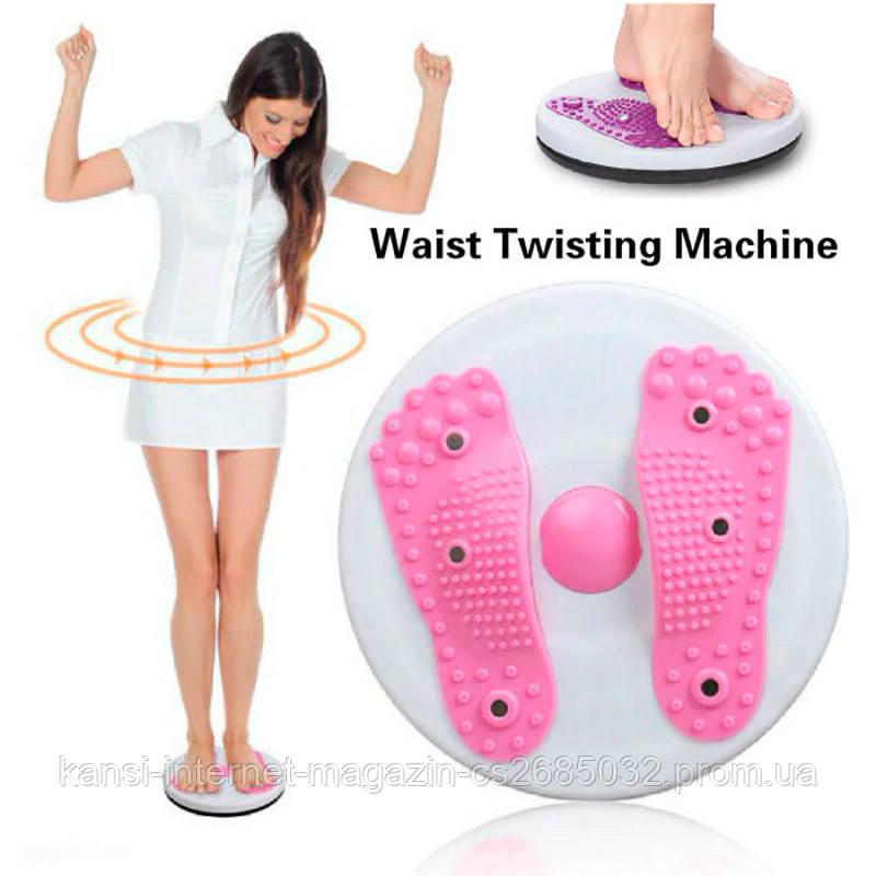 Тренажер диск балансировачный WO-07, масажний обертовий диск для ніг