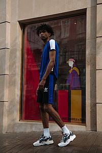 Мужской костюм футболка и шорты 1360 (РО)