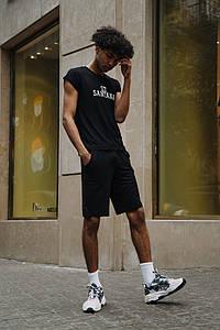 Мужской костюм футболка и шорты 1355 (РО)