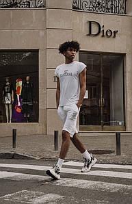 Мужской костюм футболка и шорты 1354 (РО)