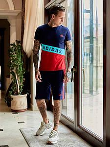 Мужской костюм футболка и шорты 1352 (РО)