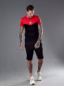 Мужской костюм футболка и шорты 1337 (РО)