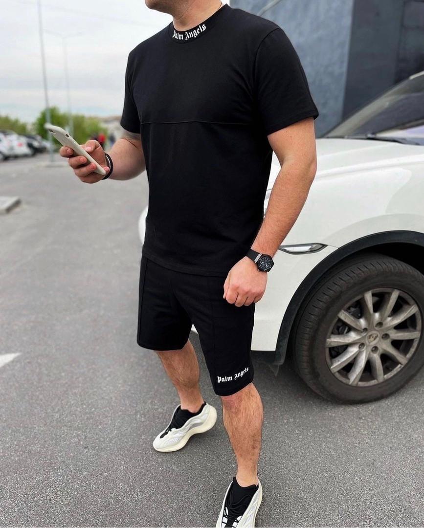 Чоловічий костюм футболка і шорти 1361 (РВ)