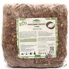 Кокосовые чипсы 5 кг (70% Торф, 30% Чипс)