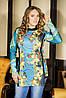 Платье из стеганого трикотажа | Богема 2 lzn, фото 2