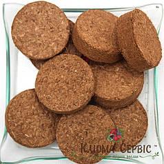 Кокосовые таблетки, d-30 мм (100% Чипс)